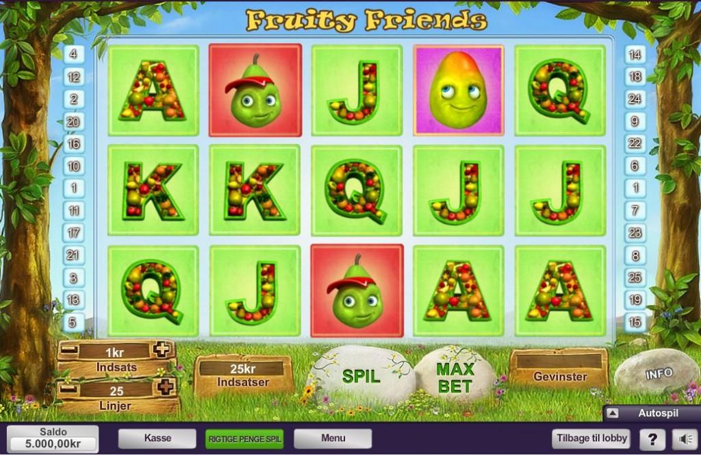Fruity Friends spillemaskine