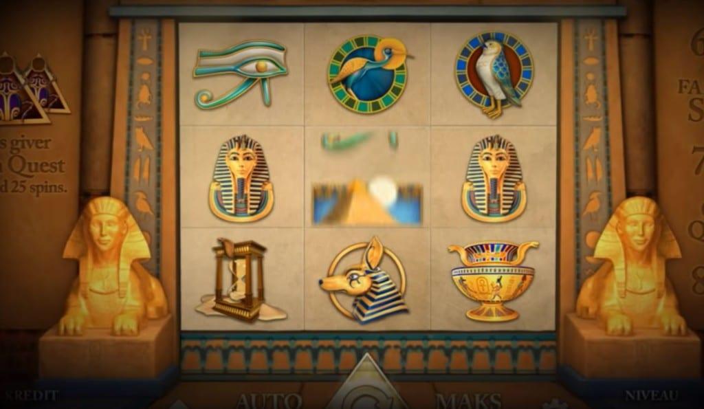 Golden Pyramid spillemaskinen