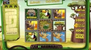 Safari spillemaskine