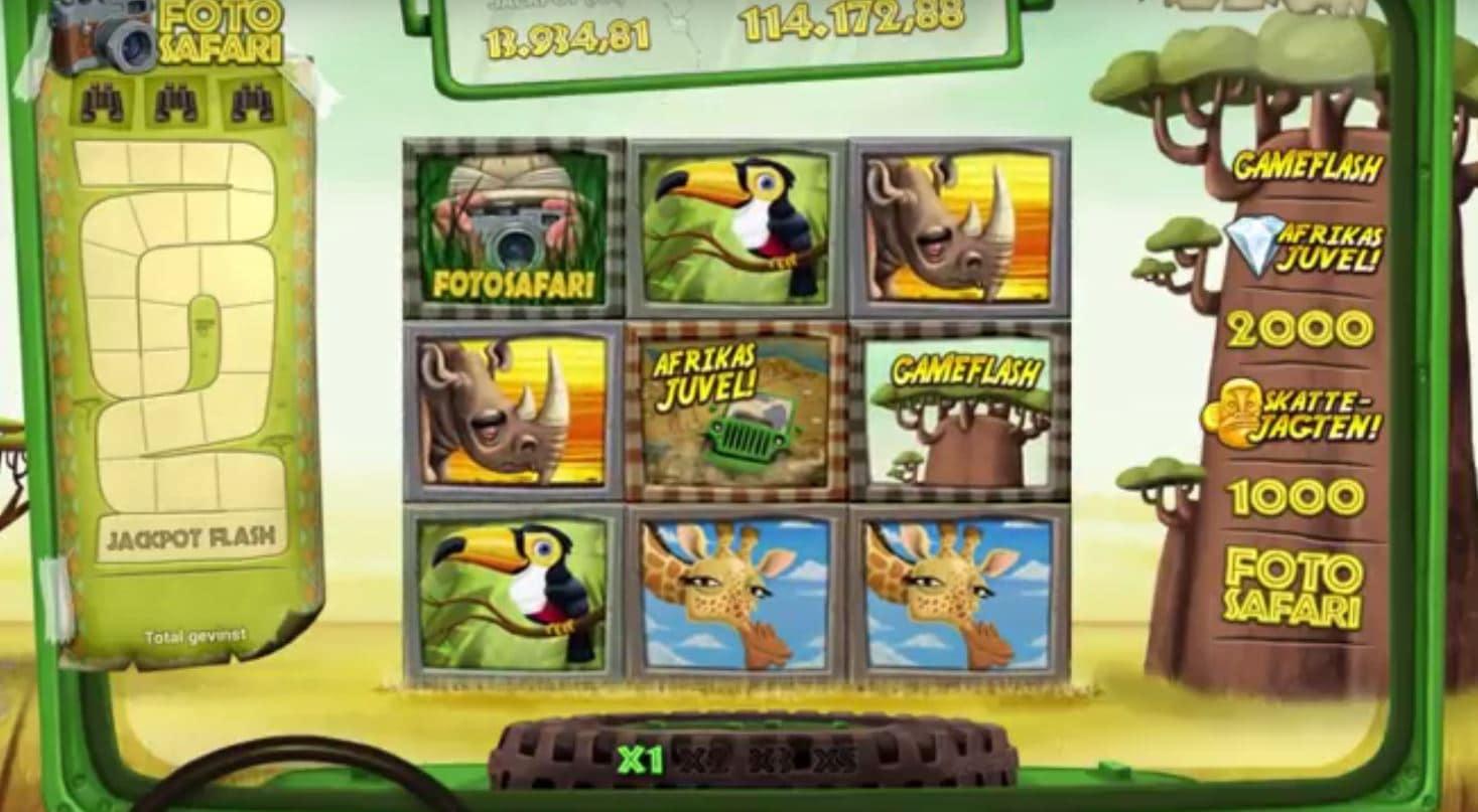 Safari spilleautomat