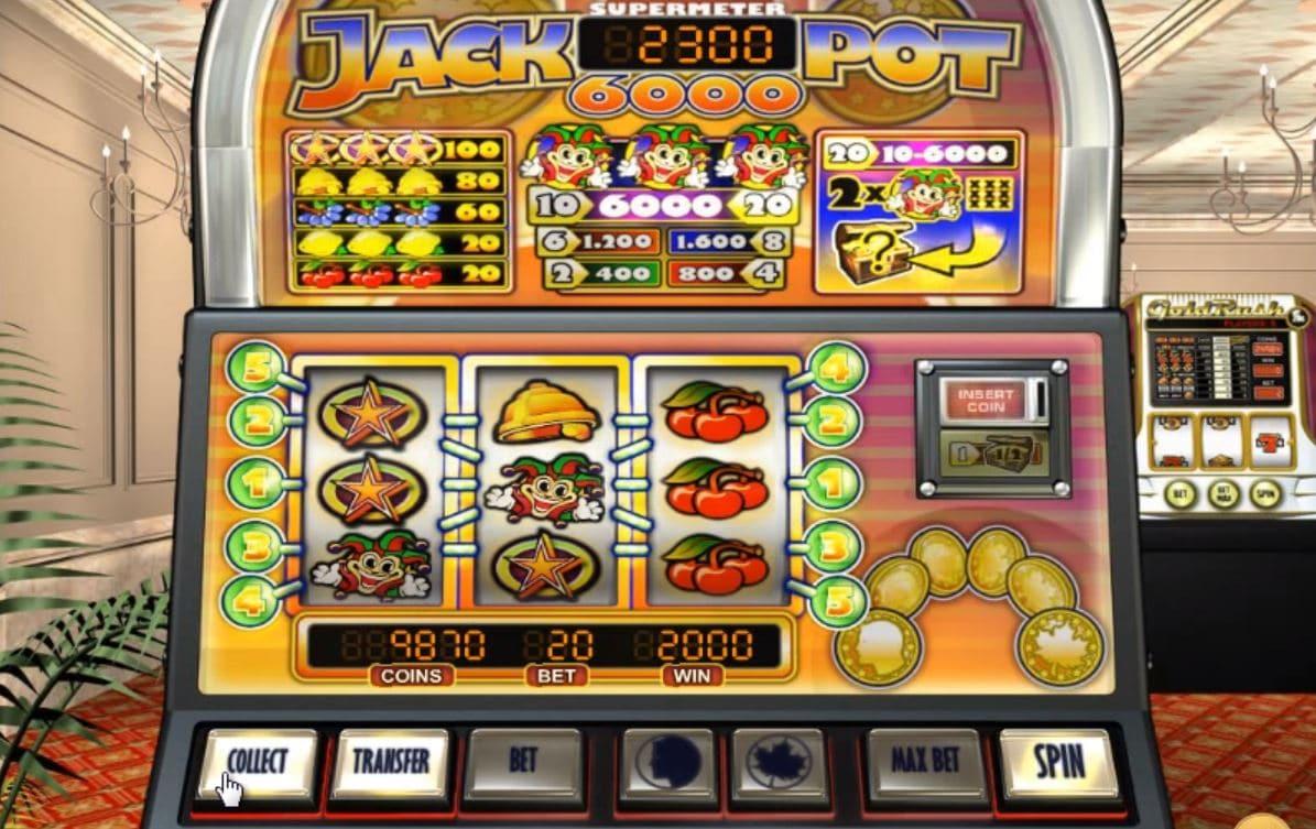 Jackpot 6000 spillemaskinen