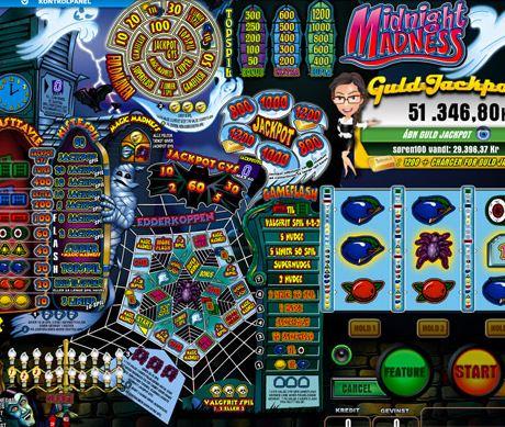 Midnight Madness spillemaskine